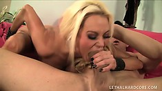 Nikita Von James loves to suck cock and lick his tight asshole