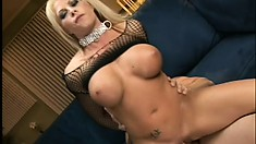 Bosomy witch with hot ass is pounded hard by voracious penis