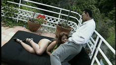 Princess Sophia gets totally naked and shoots wild sexual scene with fellow actor